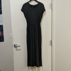 NWOT JustFab maxi t-shirt dress